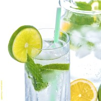 Limonade fines bulles