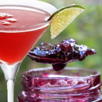 "Confiture cocktail ""Cherry Cosmopolitan"""